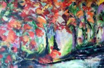 Beautiful autumn, size 70x90cm