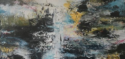 Abstract nature 6, size 50×50 cm